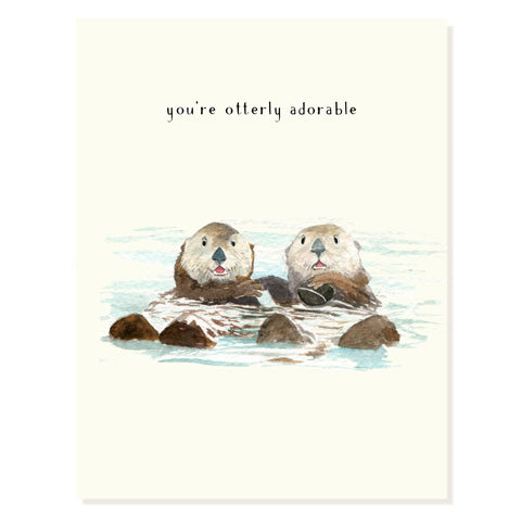 Otter Half - Occasion Card