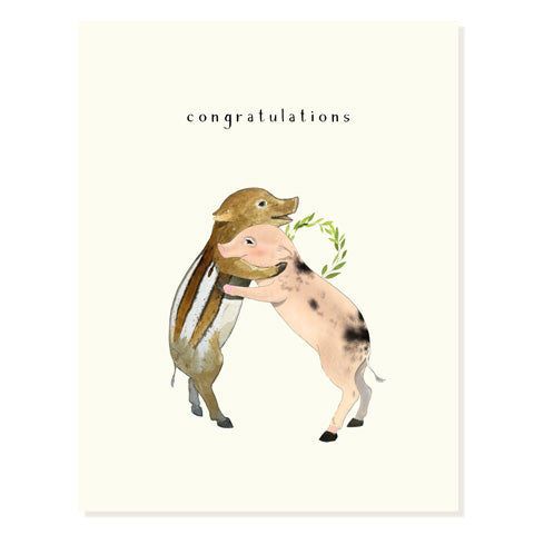Pig Pals - Occasion Card