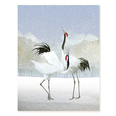 Dancing Cranes - Occasion Card
