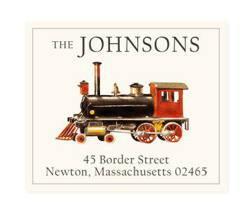 All Aboard - Return Address Labels