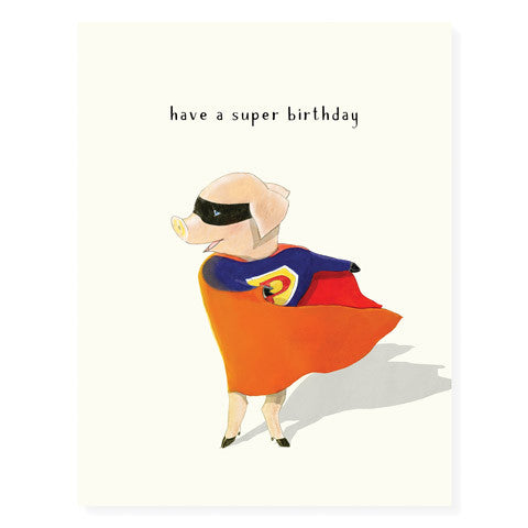 Superpig - Occasion Card