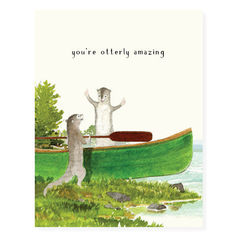 Otter Friends - Occasion Card