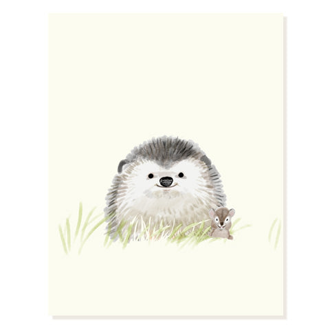 Lil Hedgie - Occasion Card