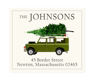 For Christmas - Return Address Labels