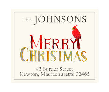 Merry Merry - Return Address Labels