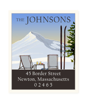 Mountain View - Return Address Labels