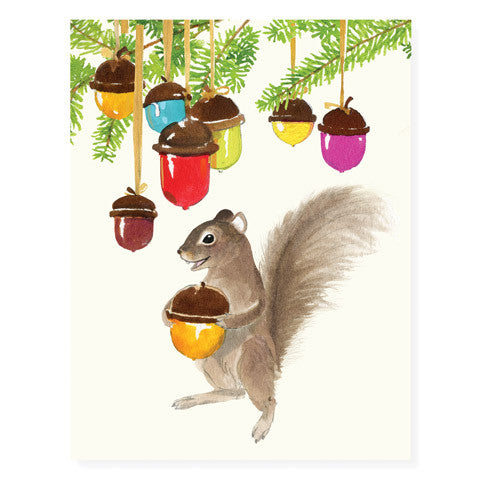 Nuts and Bulbs - Occasion Card
