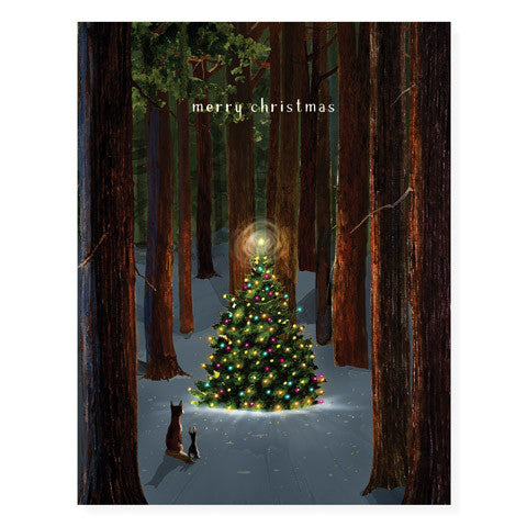 Tree Lighting - Occasion Card