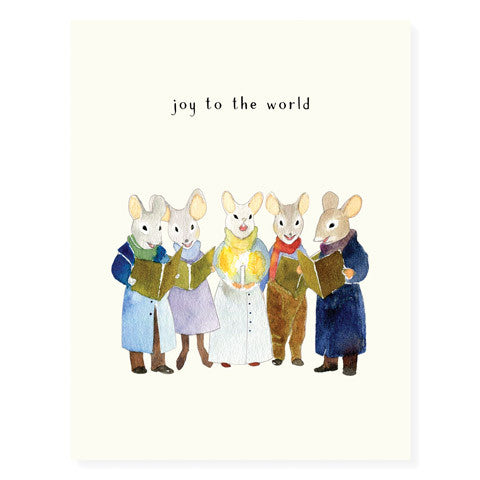 Carolling Mice - Occasion Card
