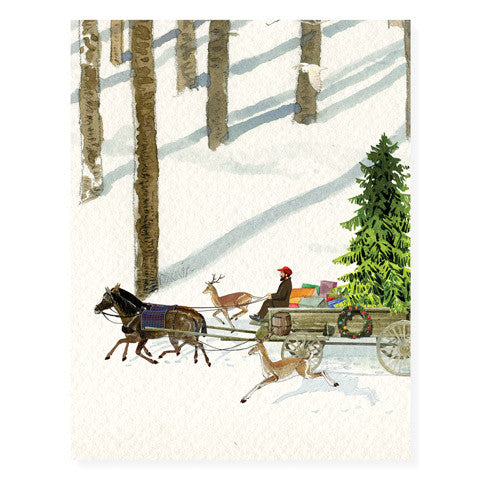 Christmas Delivery - Occasion Card