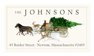 Tree Delivery - Panoramic Return Address Labels