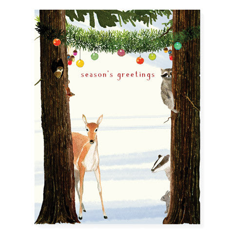 Woodland Greetings - Occasion Card