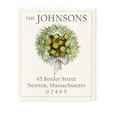 Acorn Garland - Return Address Labels