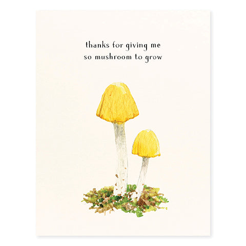 Yellow Cap - Occasion Card