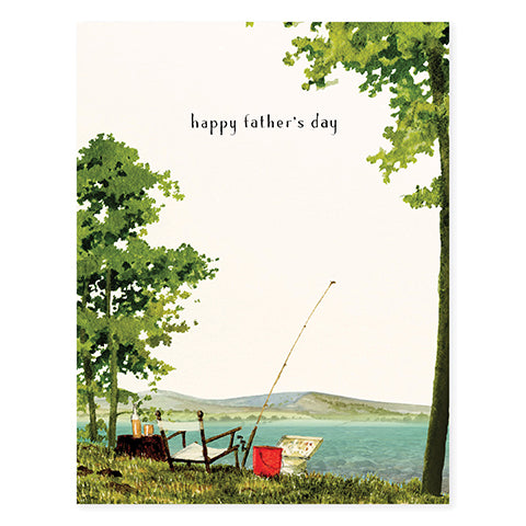 Gone Fishing - Occasion Card