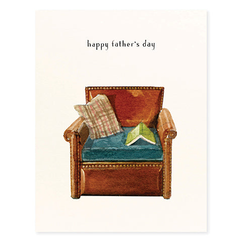 Reading Chair - Occasion Card