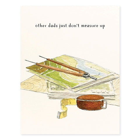 Measure of a Man - Occasion Card