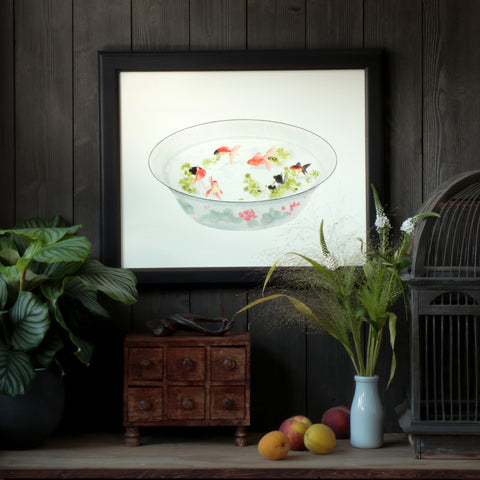 Art Print - Goldfish Bowl