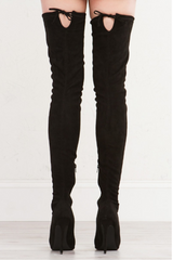 Vogue Thigh-high Boots , Shoes - Fashion Trend LA, Fashion Trend LA  - 2