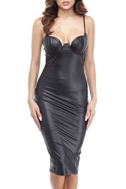 Adriana Midi Small / Black, Dresses - Fashion Trend LA, Fashion Trend LA  - 1