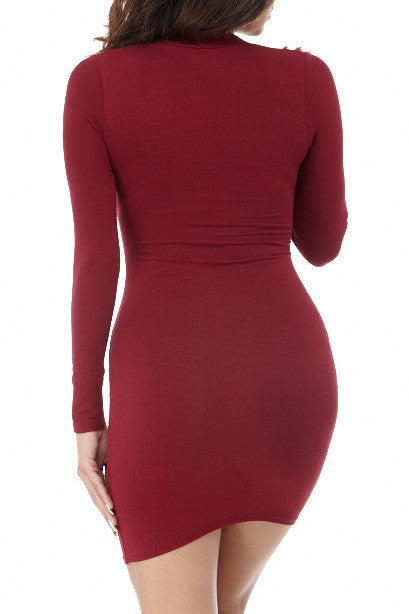 Alena Deep V Mini , Dresses - Fashion Trend LA, Fashion Trend LA  - 2