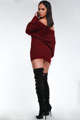 Betty Crisscross Sweater Dress