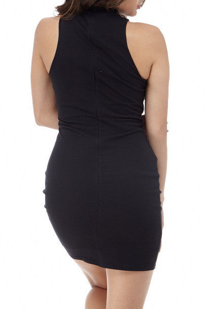 Black Detail Front Mini , Dresses - Fashion Trend LA, Fashion Trend LA  - 2