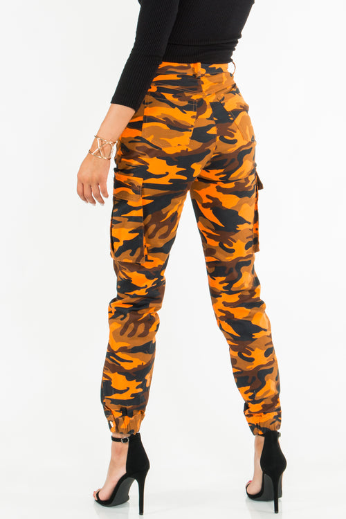 Boot Camp Camo Cargo Pants