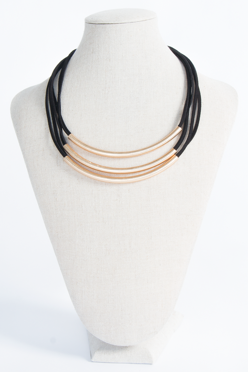 Faux Leather Bar Coker , Choker - Fashion Trend LA, Fashion Trend LA