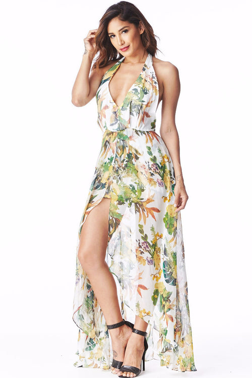 Flare Flower Maxi Small, Dresses - Fashion Trend LA, Fashion Trend LA  - 1