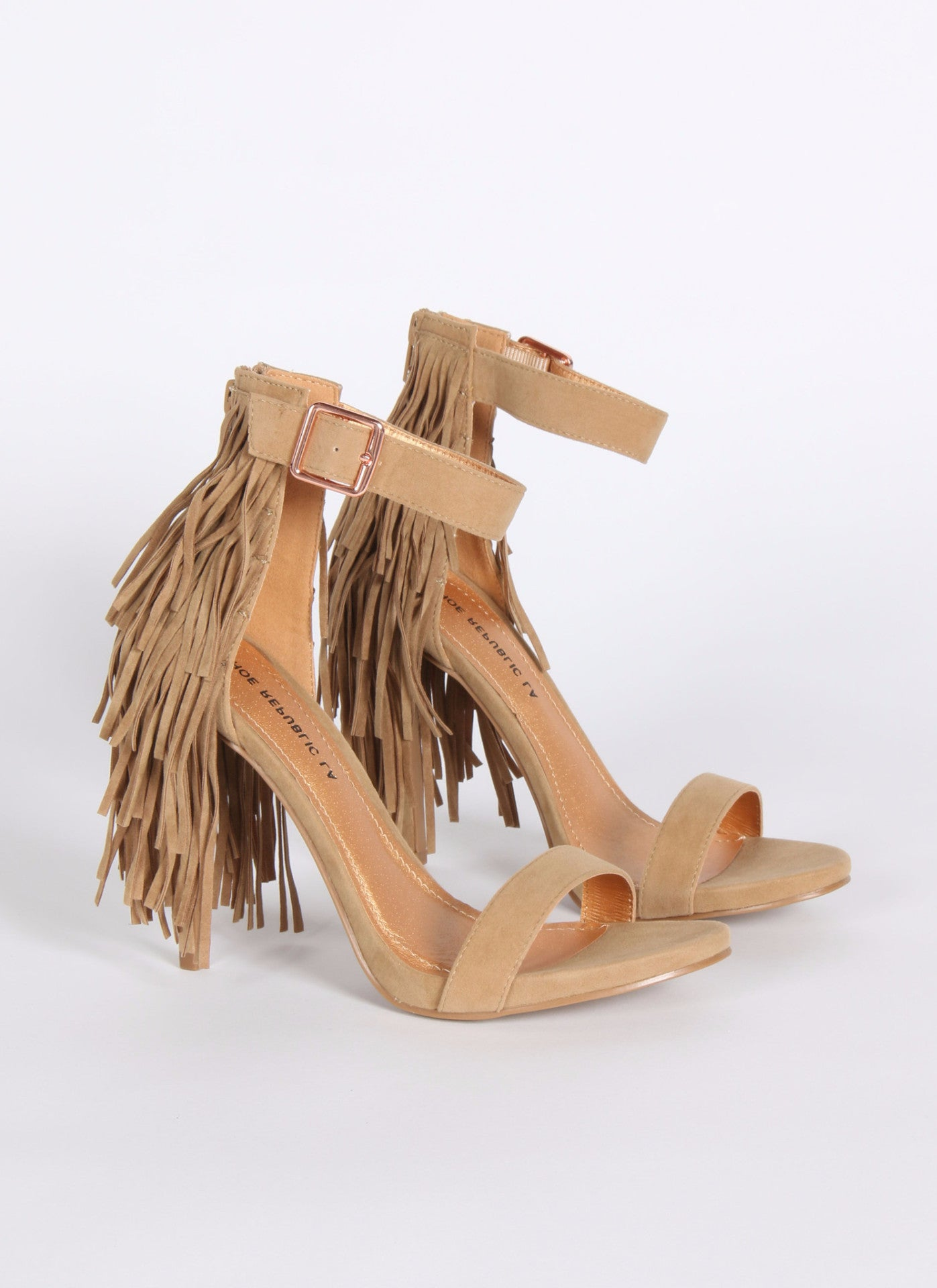 Fountain - Camel 6, Heel - Fashion Trend LA, Fashion Trend LA  - 1