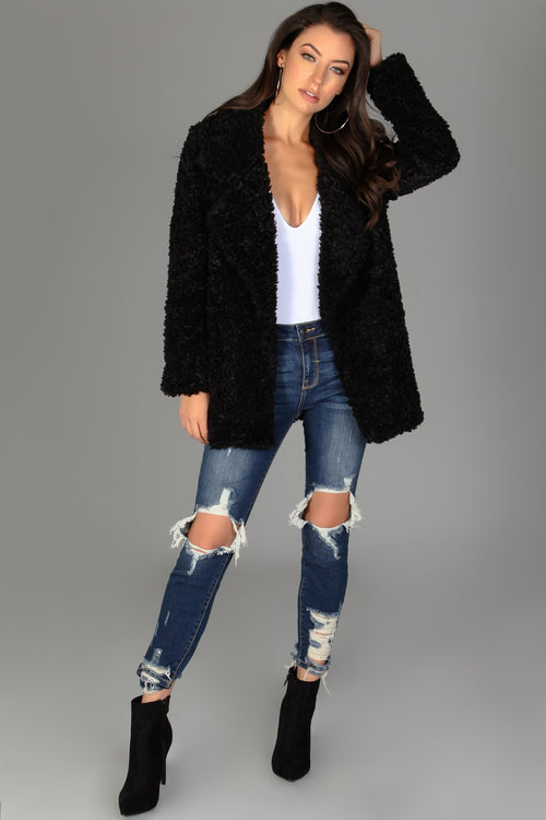 Fuzzy Cozy Coat