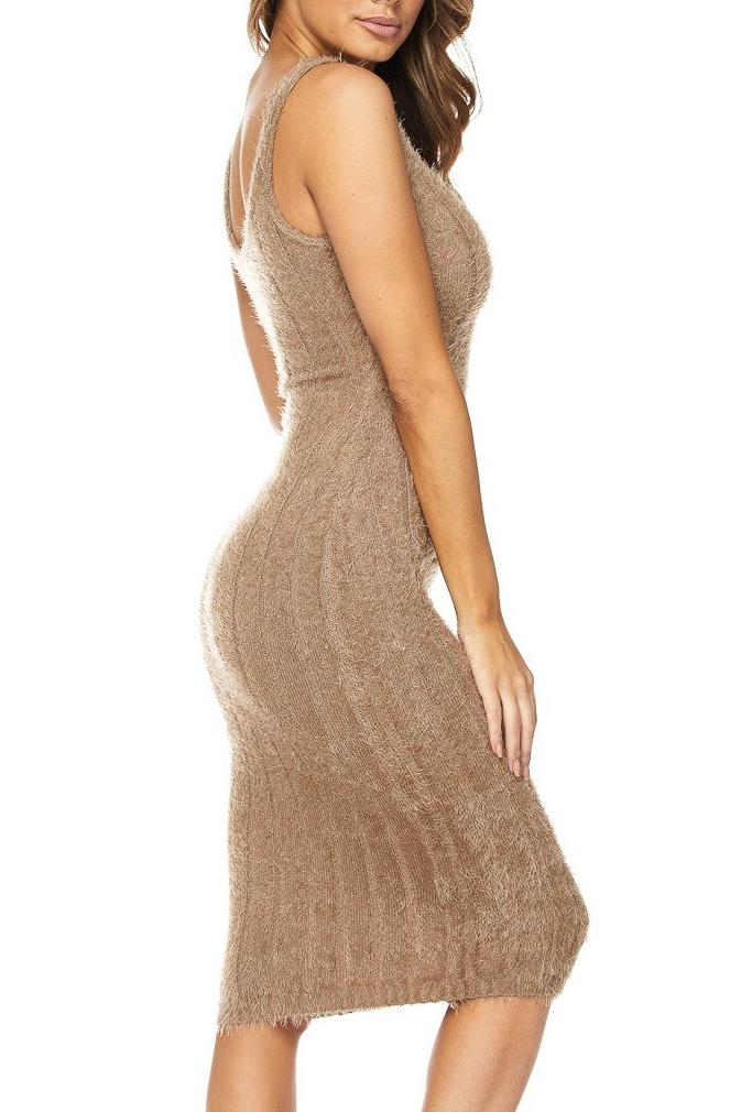 Fuzzy Tank Dress