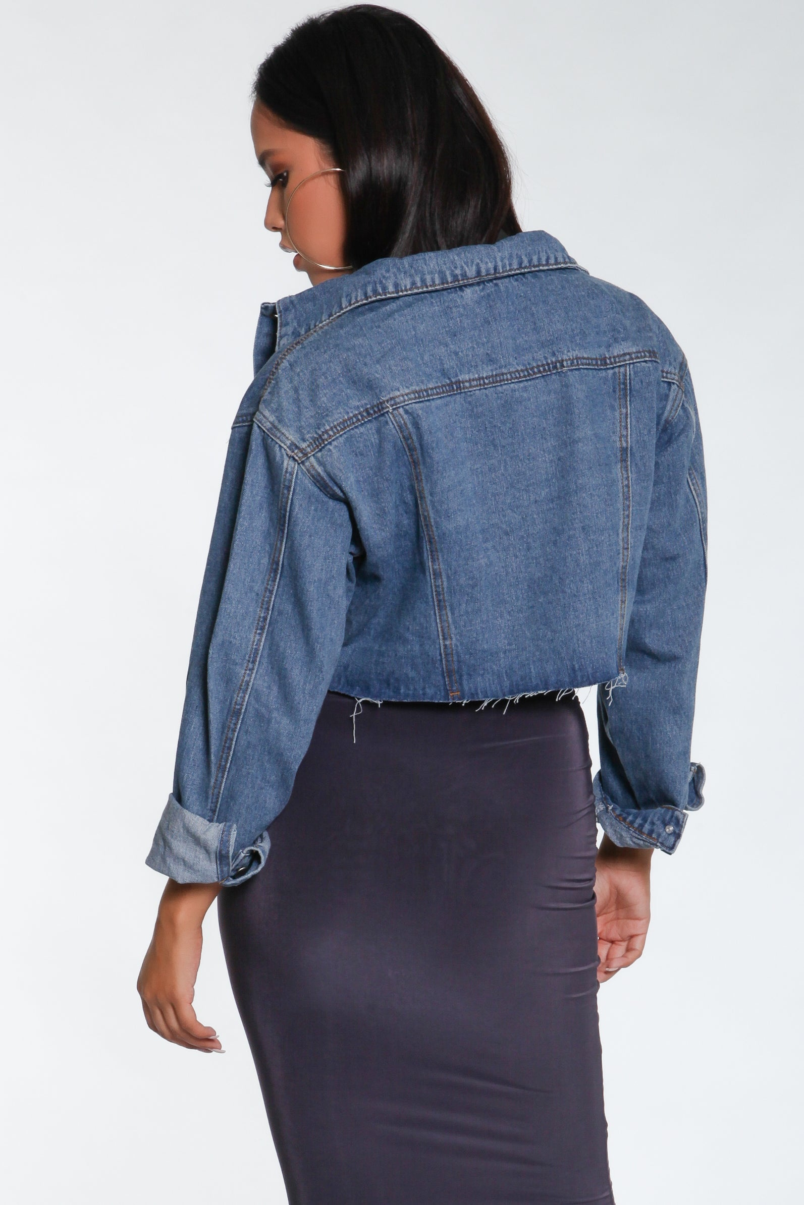 Heartbreaker Frayed Denim Jacket