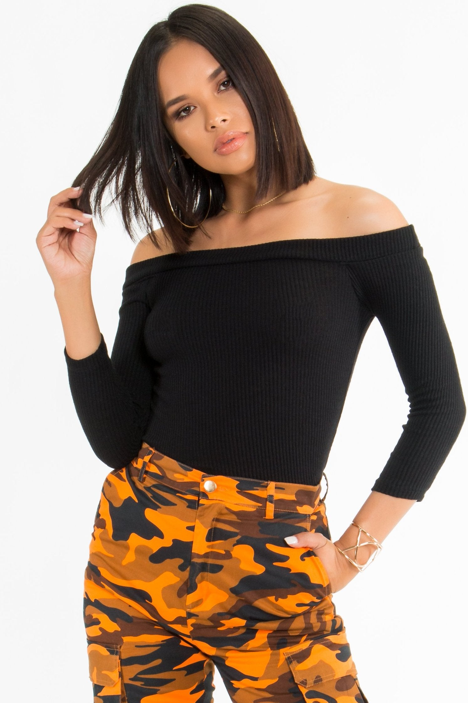 Savannah Off Shoulder Bodysuit
