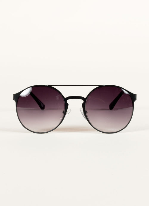 Metal Retro Round Sunglasses , Accessories - Fashion Trend LA, Fashion Trend LA  - 1