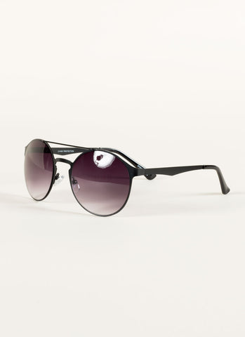 Metal Retro Round Sunglasses , Accessories - Fashion Trend LA, Fashion Trend LA  - 2