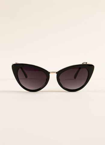 Hollywood Cat Eye Sunglasses , Accessories - Fashion Trend LA, Fashion Trend LA  - 1