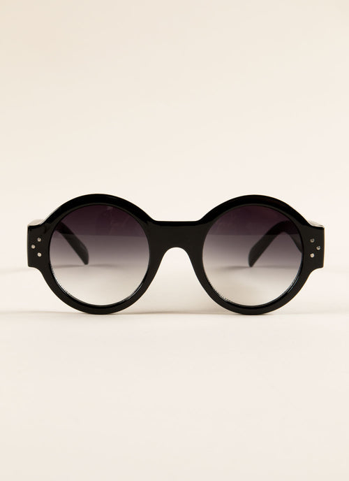 Retro Round Sunglasses , Accessories - Fashion Trend LA, Fashion Trend LA  - 1