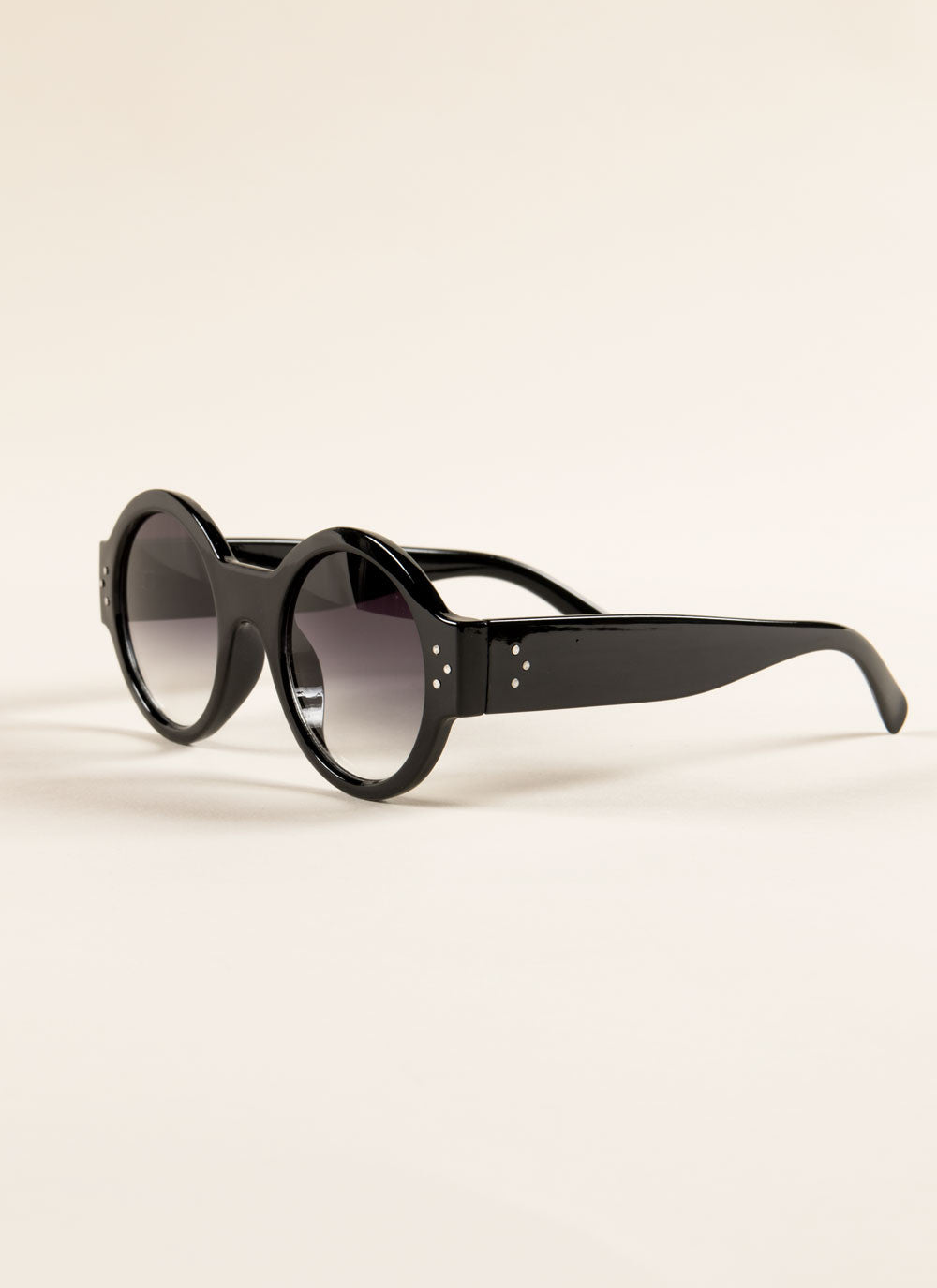 Retro Round Sunglasses , Accessories - Fashion Trend LA, Fashion Trend LA  - 3