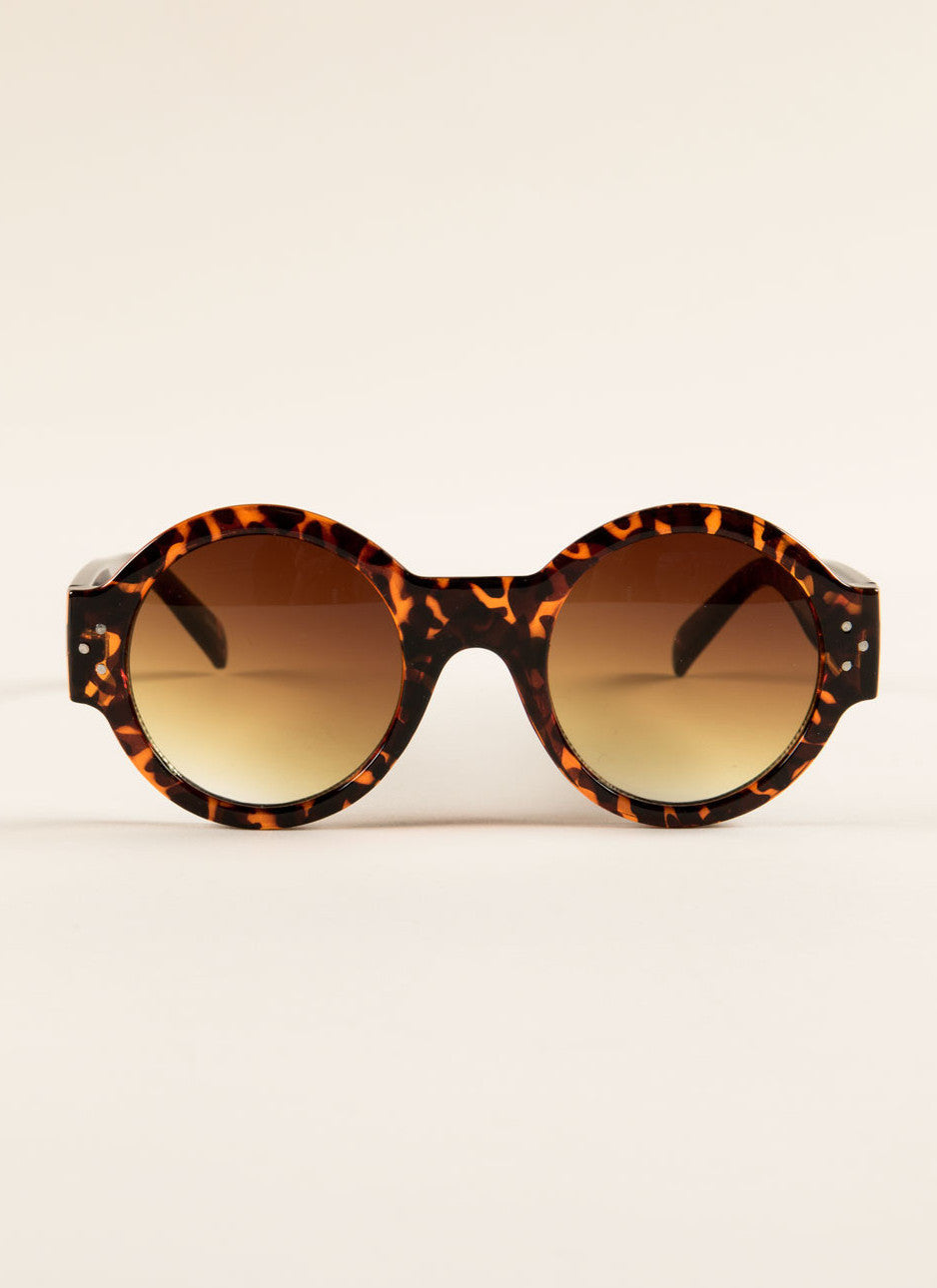 Retro Round Sunglasses , Accessories - Fashion Trend LA, Fashion Trend LA  - 2