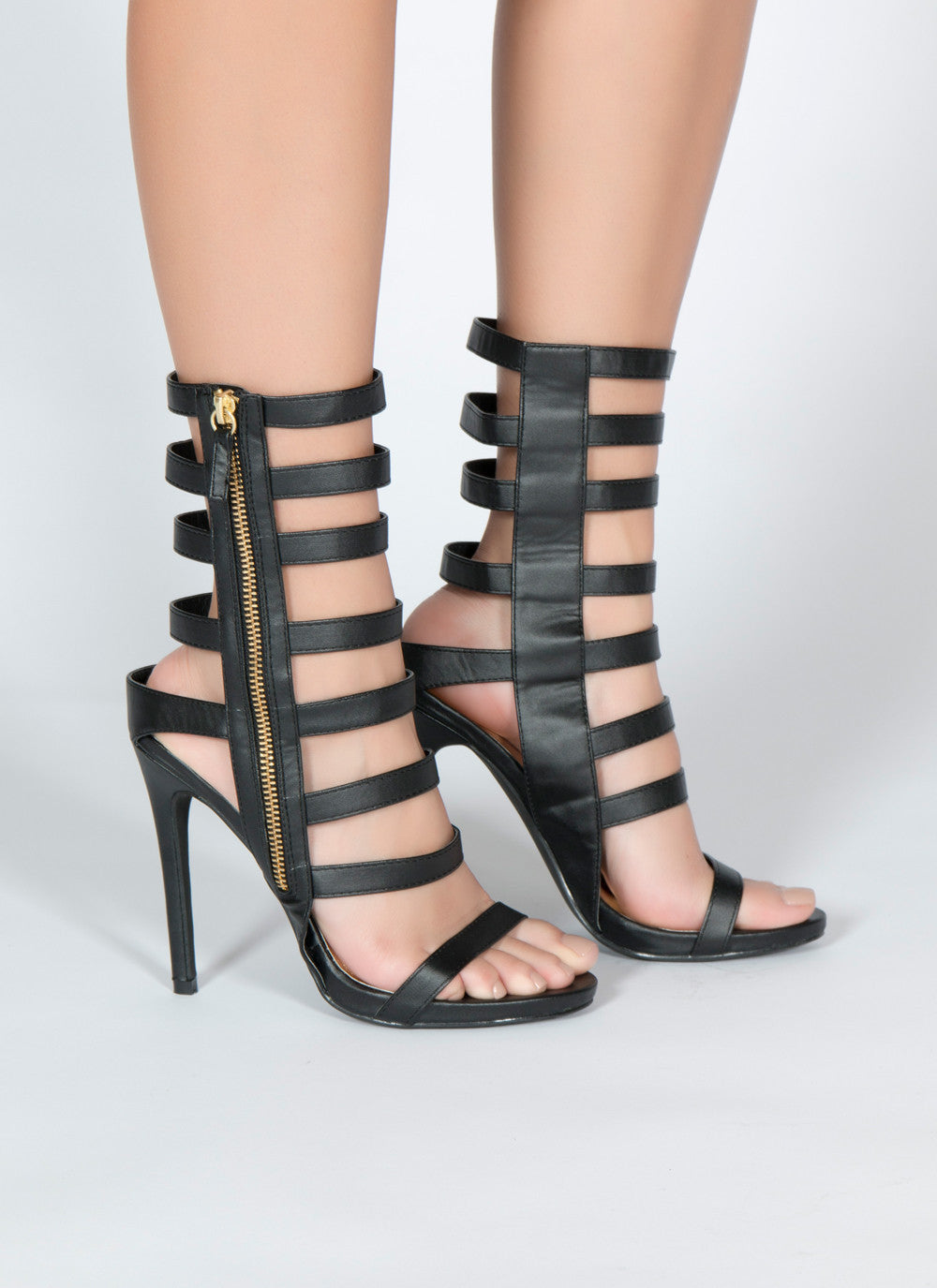 Jesse-47 7 / Heel height approx 5inches material : man made, Heel - Fashion Trend LA, Fashion Trend LA  - 1