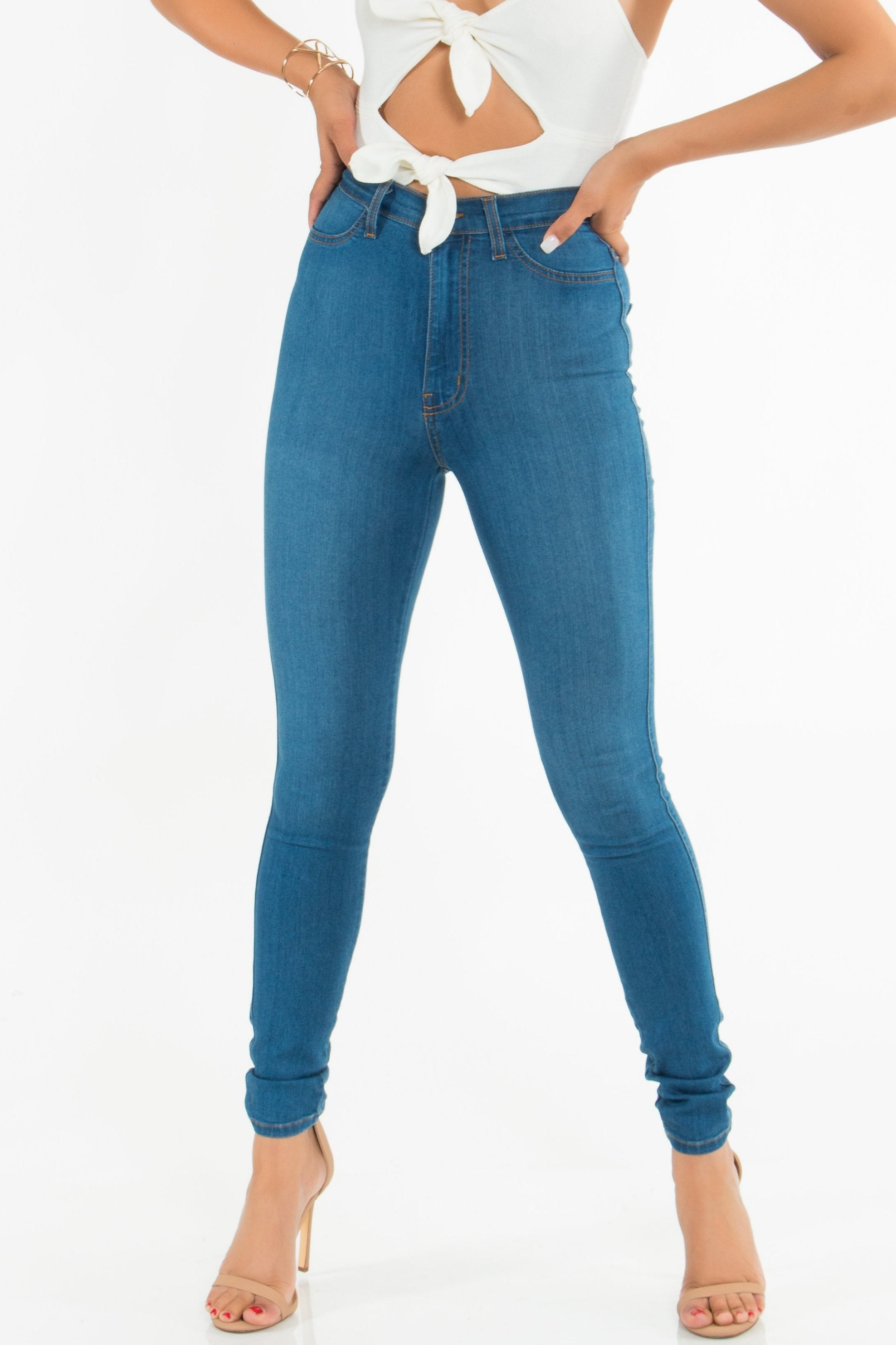 Jessie High Waisted Skinnies