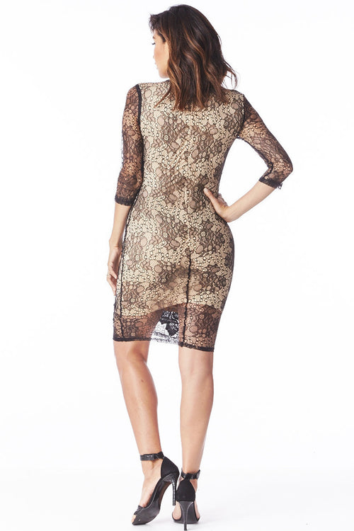 Lace Affair Dress , Dresses/Rompers - Fashion Trend LA, Fashion Trend LA  - 2