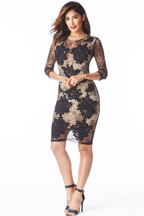 Lace Affair Dress Small, Dresses/Rompers - Fashion Trend LA, Fashion Trend LA  - 1
