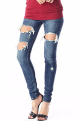 Laura Ripped Skinny Jean 3, Bottoms - Fashion Trend LA, Fashion Trend LA  - 2