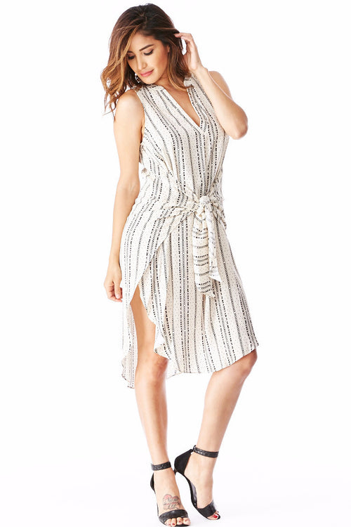 Lush Wrap Dress Small, Dresses/Rompers - Fashion Trend LA, Fashion Trend LA  - 1