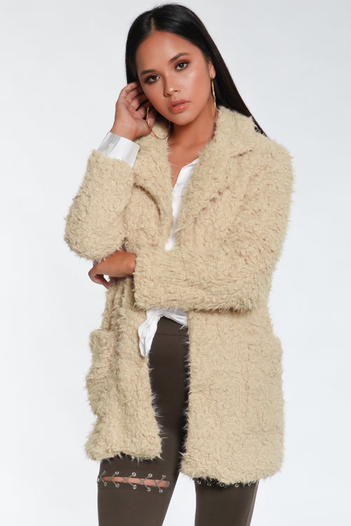 Lux Shaggy Coat