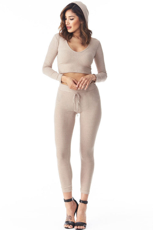 On The Go Hoodie Set Small, Two Piece Set - Fashion Trend LA, Fashion Trend LA  - 1