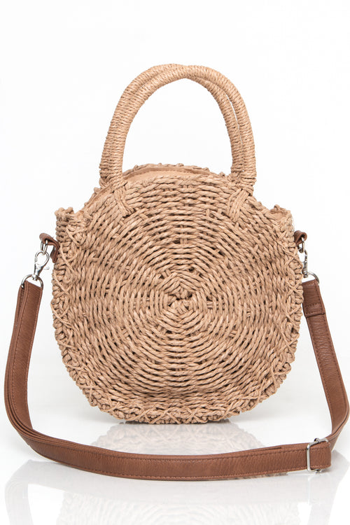 Oval Woven Purse